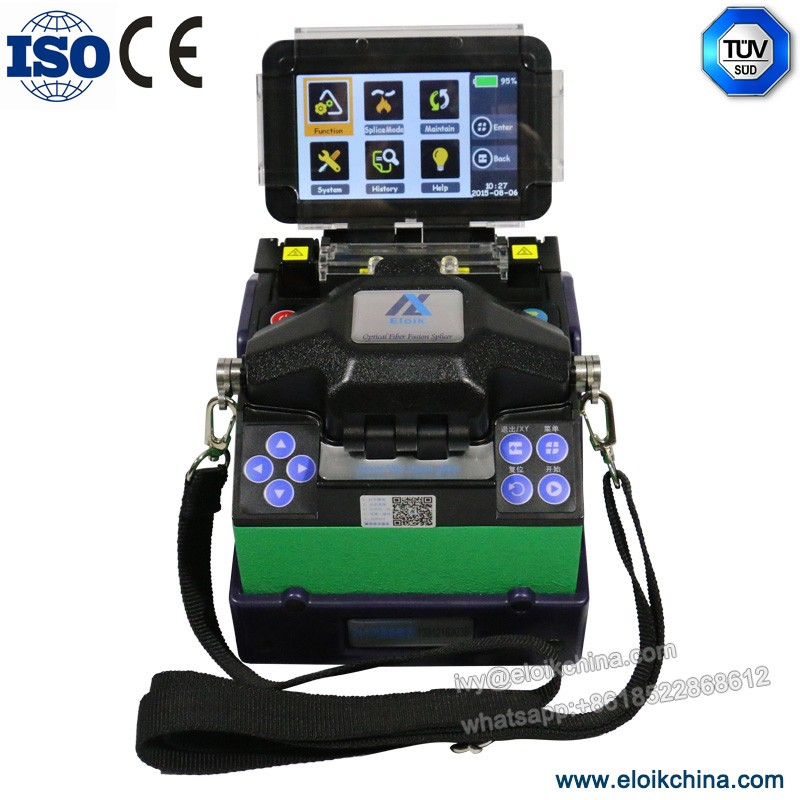 free shipping /automatic/factory direct outlets/ Eloik ALK-88A Handheld Splicing Optical Fiber Fusion Splicer machine