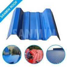Discount long Life Corrugated ASA PVC Plastic Poultry House Roof