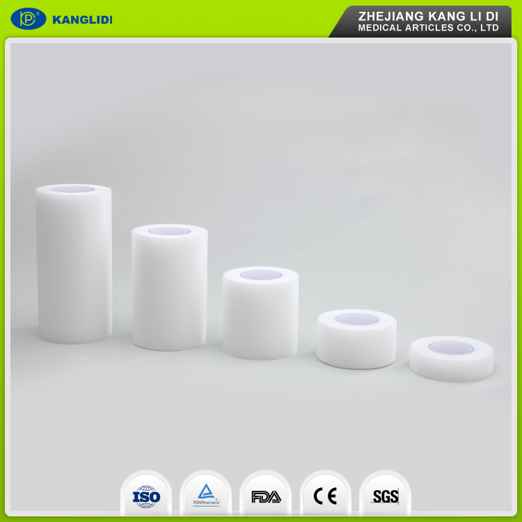 KLIDI Wenzhou Cheap Price Manufacturer Supply Adhesive Glue Hypoallergenic Surgical PE Tape