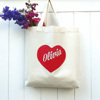 New eco-friendly shopping products standard size reusable canvas bag grocery