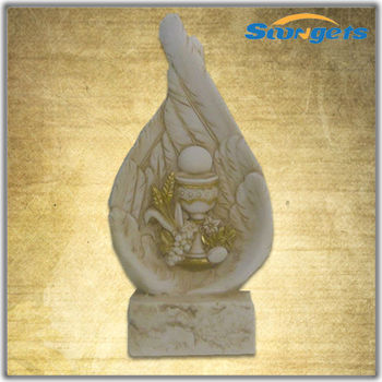 BY14Q136C3 China Alibaba Polyresin Religious Statues