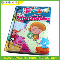 hardcover children board book printing on demand