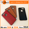 2017 PC + TPU casing and PU leather phone case supplier