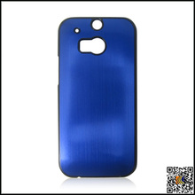 Blue PC material case, aluminum case , hard case for HTC M8