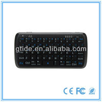 2013 keyboard latest models Gtide PK-001 black external mini bluetooth keyboard directly from China factory for mobile phone