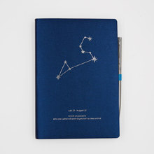 Promotion Design Foiled Softcover Leather Journal With Pen