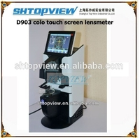 D903 Hot Sell Auto Lens meter With Printer And PD Measurer Inner UV Part Optical Lensmeter For Sale
