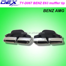 CAR PART HIGH QUALITY BEN Z AMG E63 EXHAUST MUFFLER TIP