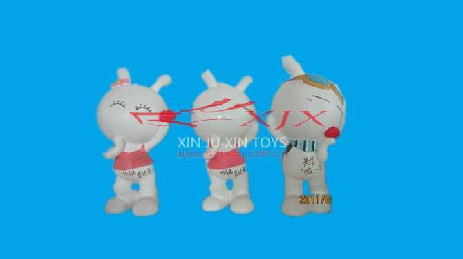 New Kids Toys For 2012, Funny Rabbit Resin Figurine