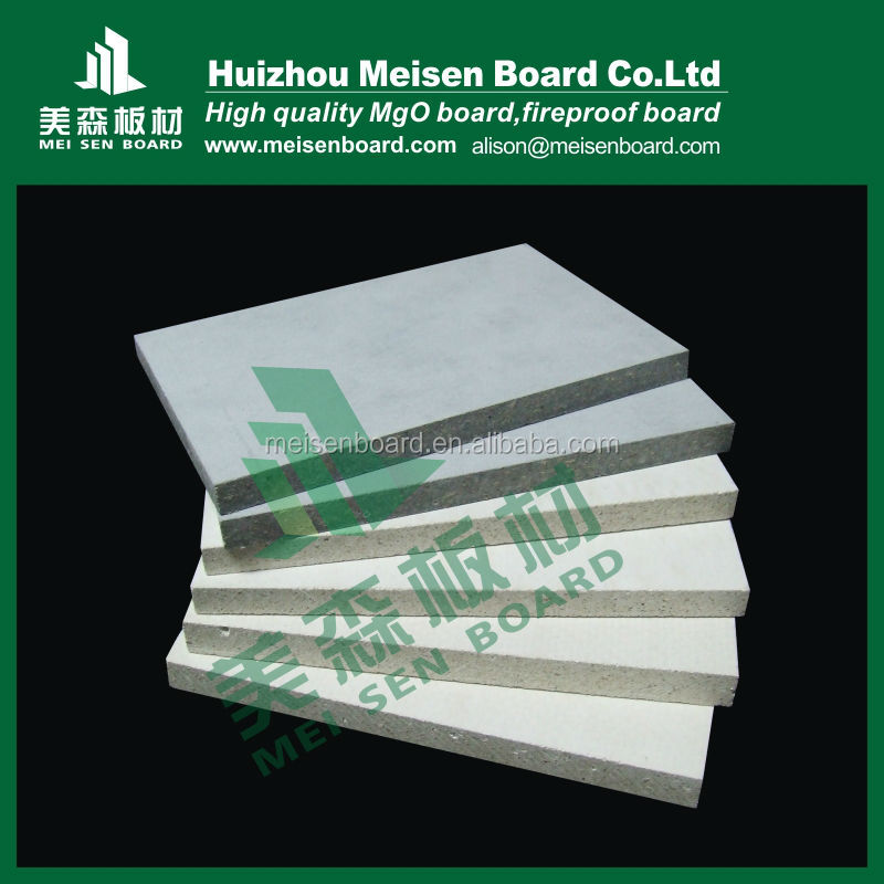 fireproof sheet mgo board for construction materials