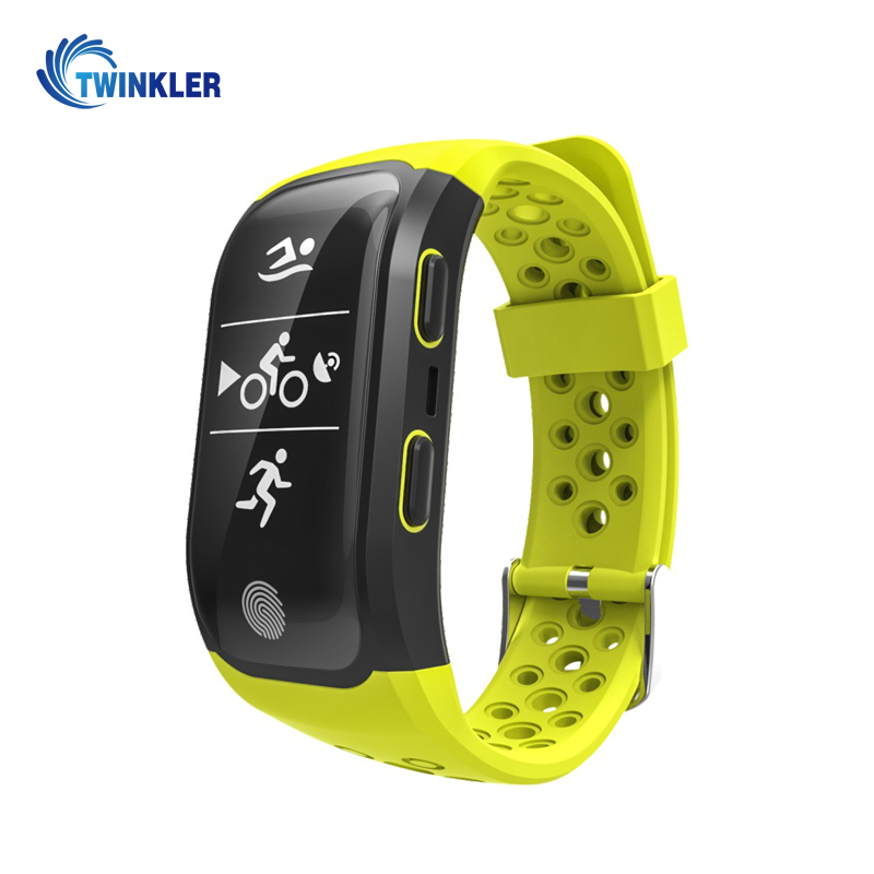 Lowest Price Smart Bracelet Waterproof Smart Band Heart Rate Monitor GPS S908 Sports Bracelet Fitness Tracker