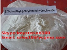 Factory Supply high purity 1,3-Dimethylamylamine HCL/Methylhexanamine / DMAA powder / CAS:105-41-9