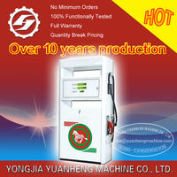 1 nozzle fuel dispenser(fuel station dispenser) with combination pump or separate pump