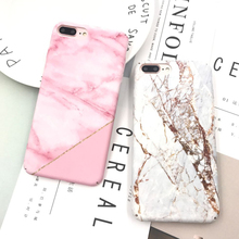 For iPhone 8 Plus Case, Custom IMD Marble Phone Case for iPhone 7 Plus