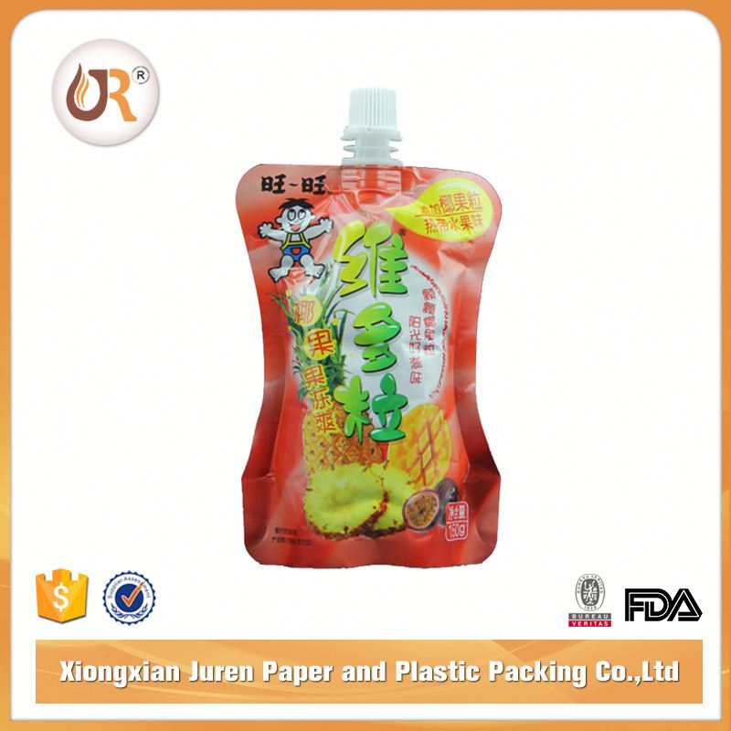 Drink Pouch with Spout Liquid Pouches Packing Bag