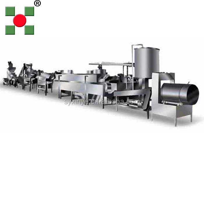 hot sale snack food frozen french fries making machinery price