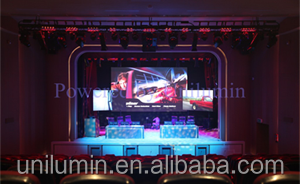 Unilumin Semi Indoor Outdoor Uslim P5.95 Hd Led Screen Display for Commercial Advertising Led Curtain