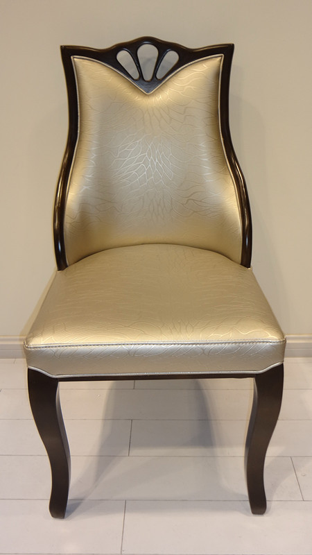 New product solid wood with leather chair hot sellC2063
