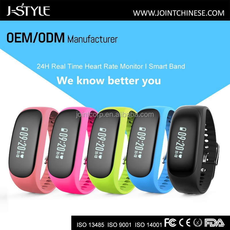 J-STYLE Activity tracker heart rate /Bluetooth heart rate monitor/Smart watch heart rate monitor