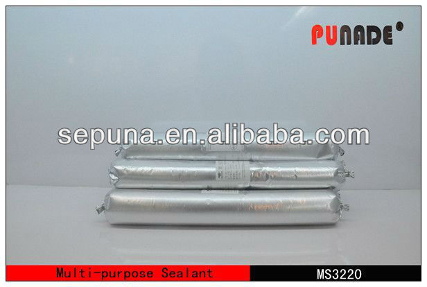 High quality MS Polymer silicone sealant for Autoglass/paper asphalt roof felt adhesive sealant