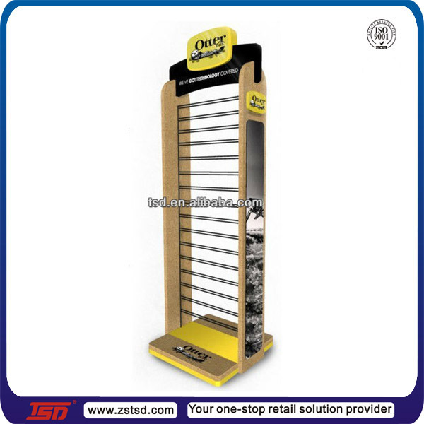 TSD-W170 double side fashion mobile phone accessories display rack,mobile shop display,cellphone accessory display rack