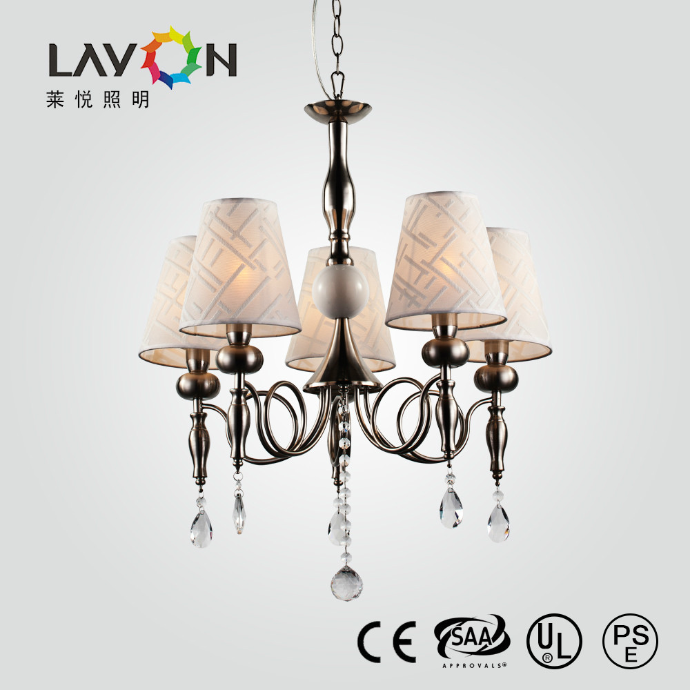 Contemporary Overhead Pendant Light Fixtures With 5 Lamp
