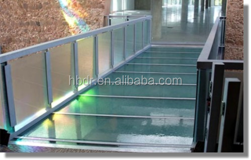 High quality tempered laminated glass floor panel with low price