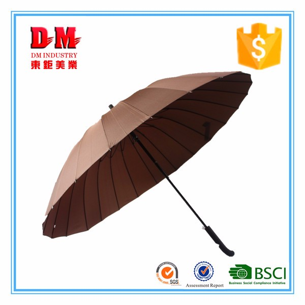 "Best price of 30""*8 ribs double fabric auto golf umbrella with CE certificate"