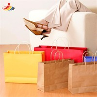 High quality custom paper bag of high-end garment for White collar workers
