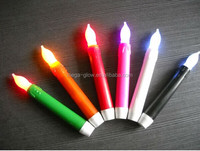 Christmas decoration wholesale flameless LED Taper candle Church Candle 6 inch