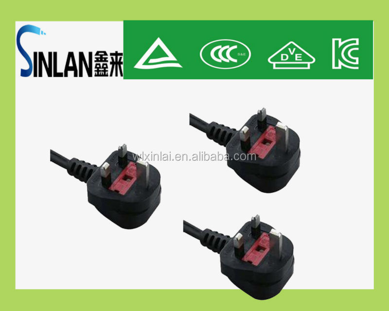 ul/eu/uk/au/ccc VDE industrial power plug eu power plug