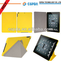 For New Apple iPad Air / iPad 5 Slim Hard Shell Leather Case , Multi-Angle Viewing