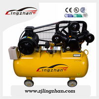 8 bar Oil-less Lubrication Style portable car air compressor