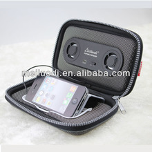 MEILUODI Outdoor stereo 600D Li battery portable speaker bag for mobile phone