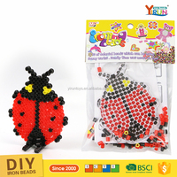Kits 5MM perler beads ideas projects for kids diy pegs pegboard set