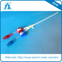 Customized Medical Consumables Double Lumen Dialysis Catheter