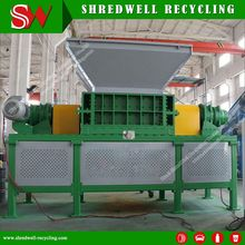 Double Shaft Waste Metal Crushing Machine for Recycling