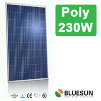 Bluesun China manufacturer cheap FOB price 230w poly solar modules