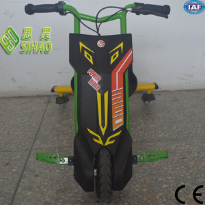 2016 new fashion three wheel drift trikescooter 3 wheel electric bike