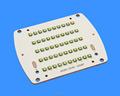 Qucikly heat dissipation flood light pcb with stamp process