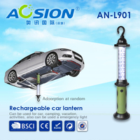 Aosion car repairing tool rechargeable LED work lantern