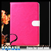 TPU case wallet leather cover handheld case for ipad mini 3