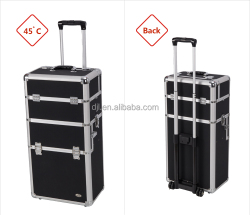 Top Fashion Beauty Trolley Cosmetic Case With Wheels