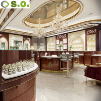 Jewellery store use furniture display showcase for jewelry shop