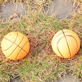 2014 high quality stuffed squeaky pvc vinyl basketball dog toy