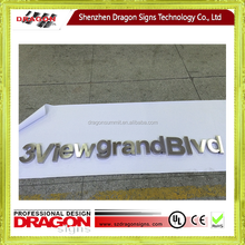china supplier led letters signs and large metal 3d logo signs