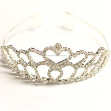 Wedding/Bridal Bulk Princess Rhinestone Crystal Beauty Pageant Crowns & Tiaras