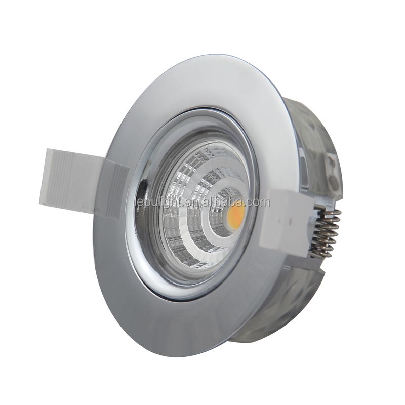 Fireproof V0 downlight,directly install,dimwarm/normal dimmable LED downlight for  swedish