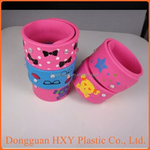 HXY Silicone Snap on wristbands, snap on bracelet for children