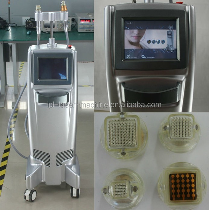 Latest skin tightening rf fractional micro needle system skin care beauty machine with new technology